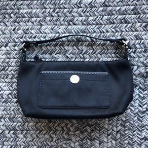 Coach black nylon bag